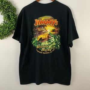 Jimmy's Seafood Buffet Kitty Hawk, NC Shirt XL